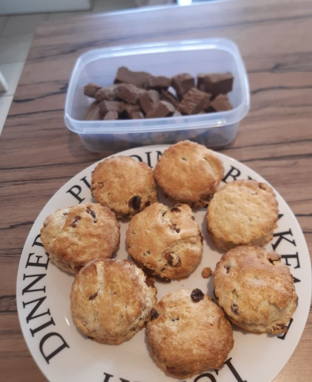 Ryan_has_been_baking__I_think_you_would_agree_the_scones_and_fudge_look_amazing_